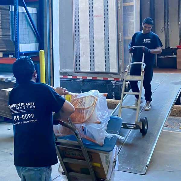 storage moving company denver