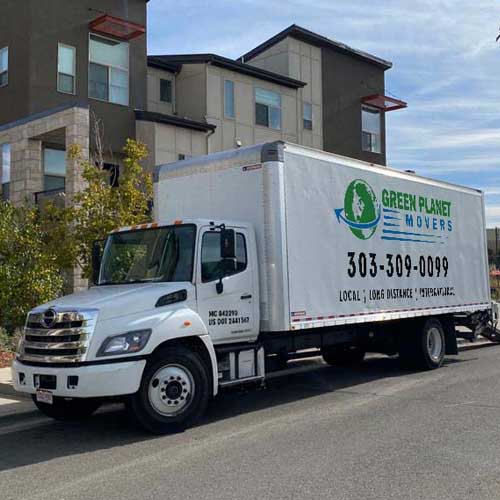 Green Planet Movers' Truck